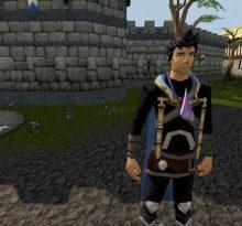 Gold Ore Rocks in RuneScape