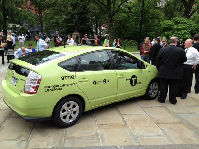 Go Green Taxi Well-Rounded