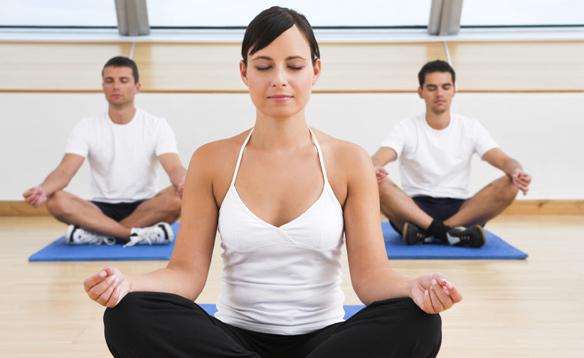 performing meditation