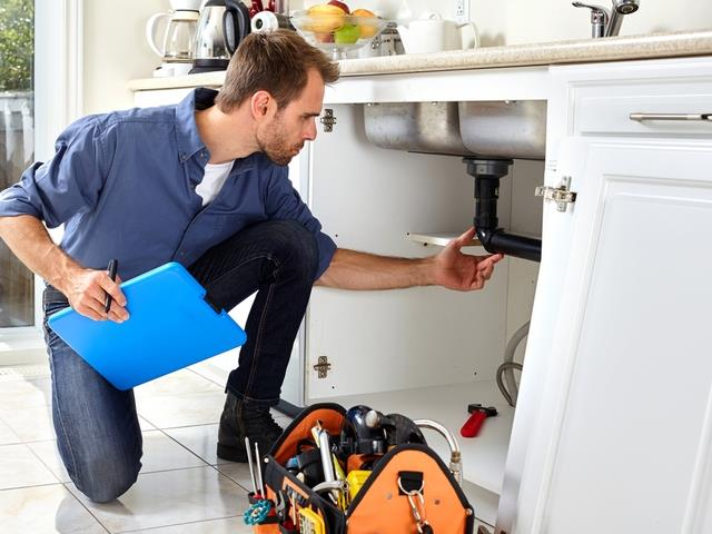 A plumber is a professional who has enough knowledge