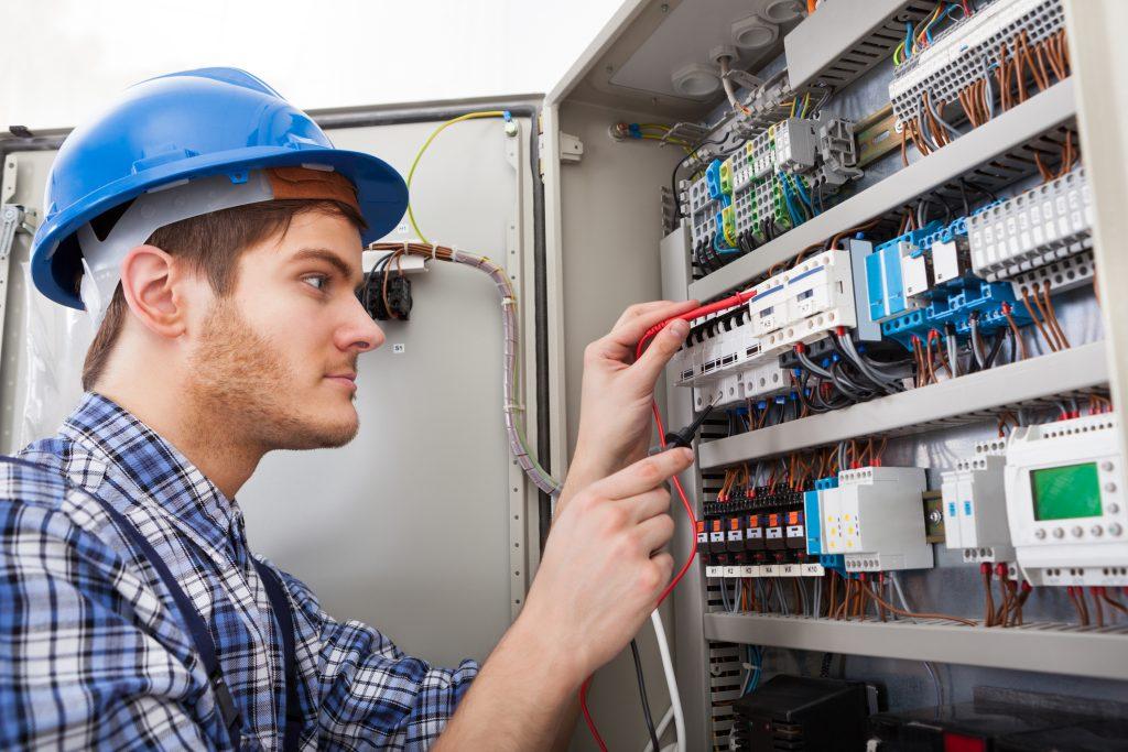 Technician Examining
